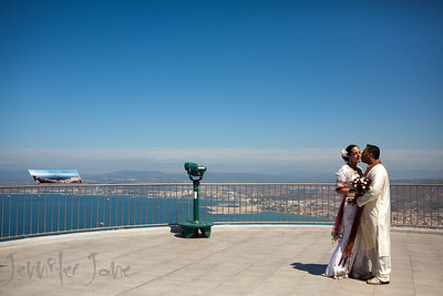 wedding photography-the rock gibraltar-©JJWeddingPhotography.com