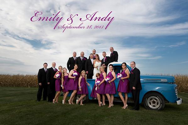 Emily Salas & Andy Brzezinski Wedding Gallery