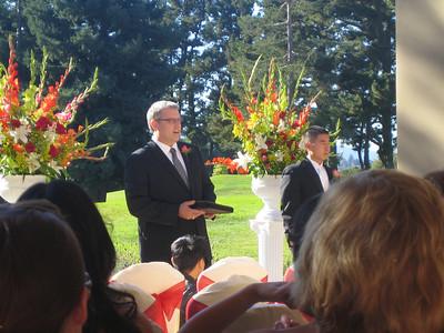 Vince & Gerry's wedding