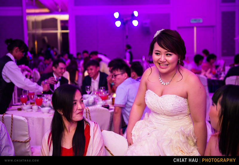 Actual Day Wedding Photography by Chiat Hau Photography (Vincy + Allen - Penang E&O Reception Session)