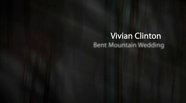 Vivian Clinton Bent Mountain Virginia Wedding - Photo Show  Click Arrow to Play Show