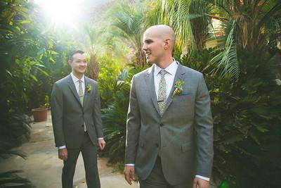 Joe and Kevin: Couple's Portraits