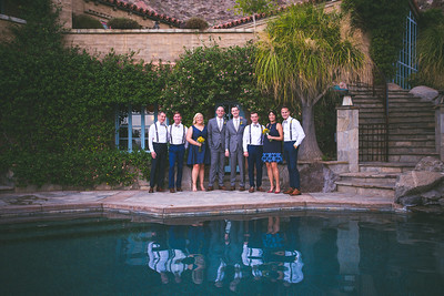 Joe and Kevin: Wedding Party Portraits
