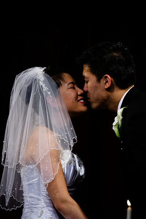 The kiss.