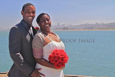 Joey & Teasha's Wedding Day