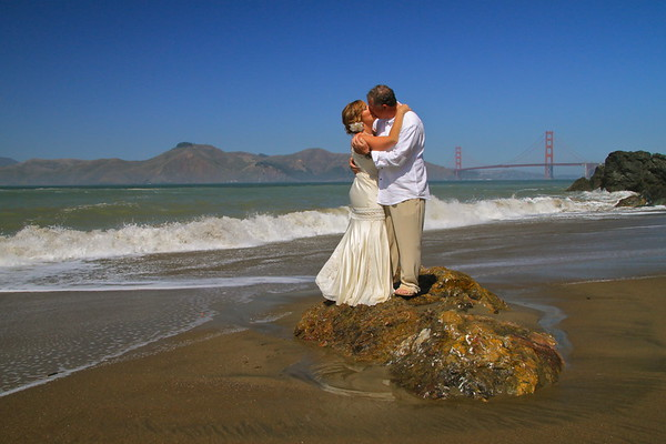 SF Intimate Wedding Portrait Photography