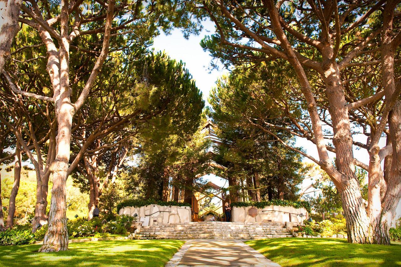 <strong>wedding at wayfarers chapel</strong>