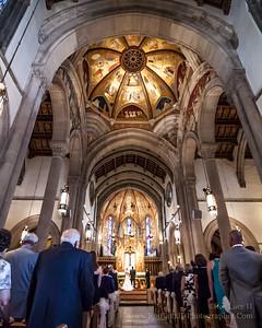 Wedding at St. Bernard