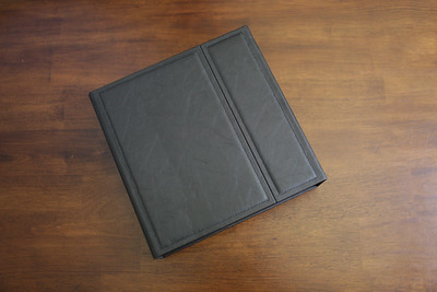 Wedding Album - Black Leather 10x10 w Box