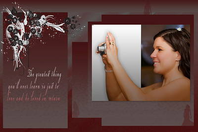 If you are after a personalized designed Wedding Album Templates, please email me to discuss and review options and style available. Please also note some of the photos used in the making of these templates were not taken by me and take no credit.