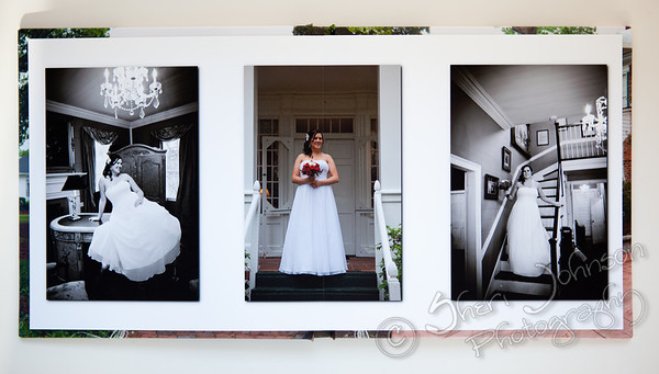 Fine Art Panoramic Lay Flat Wedding Book with Museum Quality Matte Paper & Archival Ink