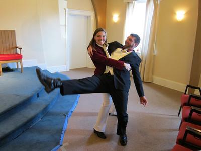Amy Sobeck & Eric Newsome Wedding 2010 Dec. 31
