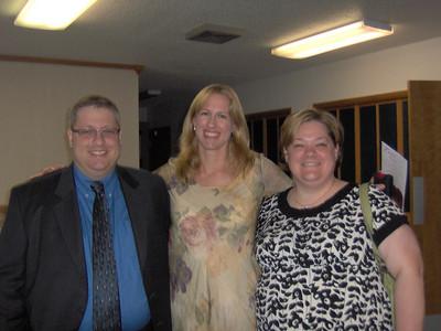 Steve & Rebecca Souris (Chicago, IL) Michelle Welcher in middle, (New York)
