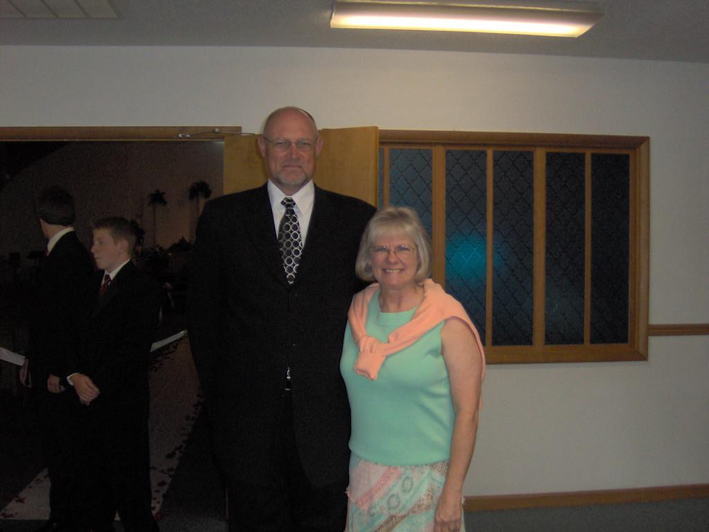 John & Glynda Gregg<br /> Drove from Pennsylvania for wedding