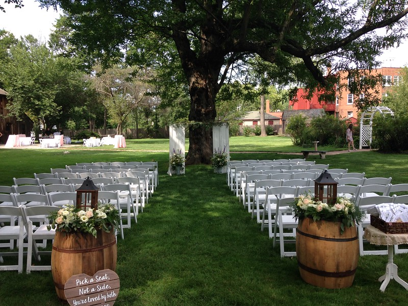 Webb Deane Barn ceremony