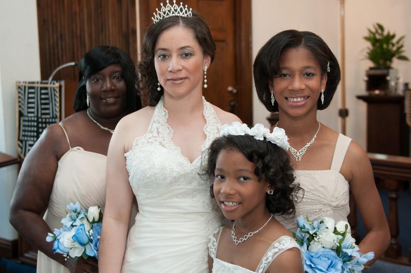 Wedding Ceremony of Diandra Morgan and Anthony Lockhart-349