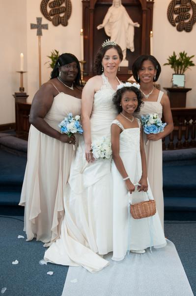 Wedding Ceremony of Diandra Morgan and Anthony Lockhart-345