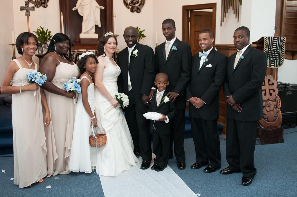 Wedding Ceremony of Diandra Morgan and Anthony Lockhart-374