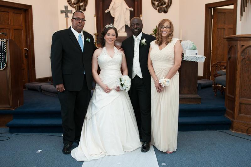 Wedding Ceremony of Diandra Morgan and Anthony Lockhart-390