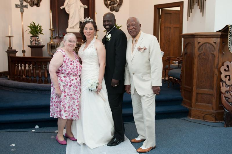 Wedding Ceremony of Diandra Morgan and Anthony Lockhart-397