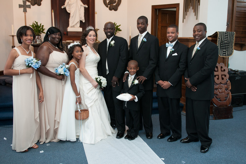 Wedding Ceremony of Diandra Morgan and Anthony Lockhart-377