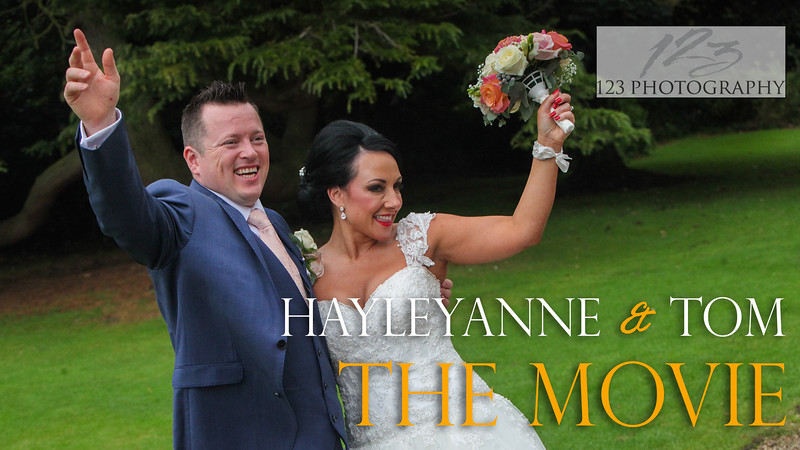 Hayleyanne and Tom's Wedding Movie Cookridge Hall