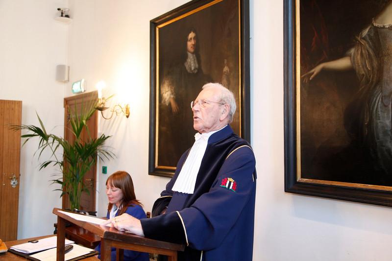 Mr. Jos van Leur, also a former Geography teacher of mine ;)