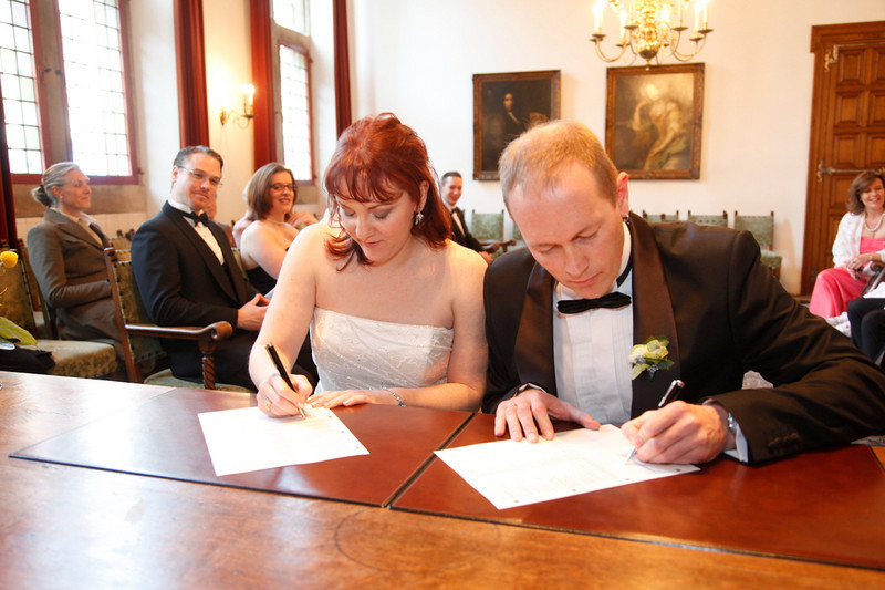 Signing the papers ;)