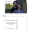 Our Save the Dates (personal info obscured)