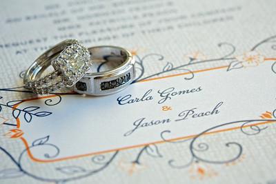Carla and Jason Peach Wedding Proof site