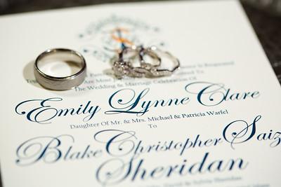 Emily and Blake Sheridan Wedding Proofs