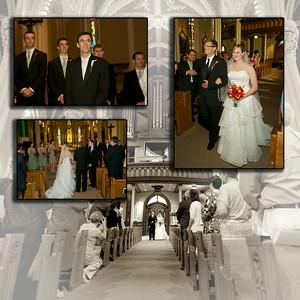 Wedding album layout