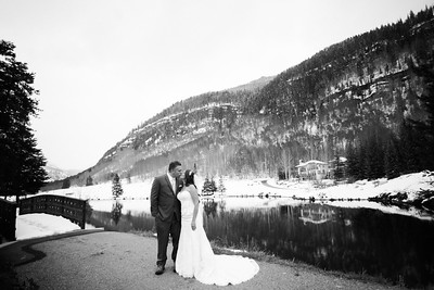 Vail Nordic Center Wedding
