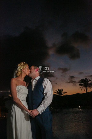 Alisha and Raymond's wedding photography Lanzarote Costa Calero