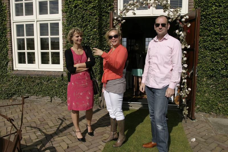Astrid, Liedewij and Jeroen