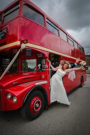 Jennifer and Steve's wedding photography Mercure Leeds Parkway