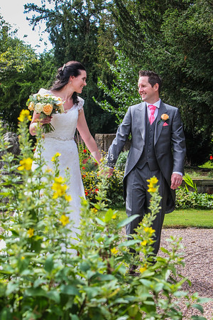 Joanne and Andrew's wedding photography Monk Fryston