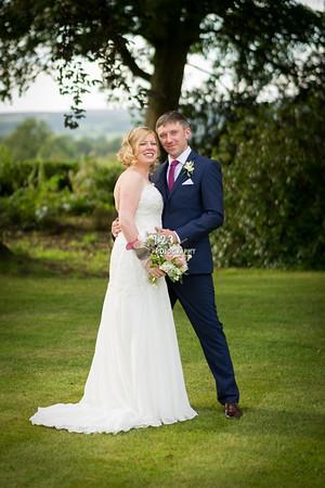 Katie and Chris's wedding photography Northcote Manor Blackburn