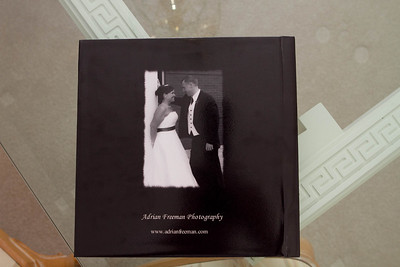 Lay Flat Photographic Memory Book (MB) - Back cover sample - All memory books will variances.