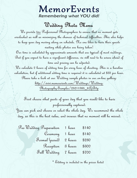 Wedding Menu2 - Page 001