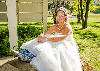 MN Bride in Boots