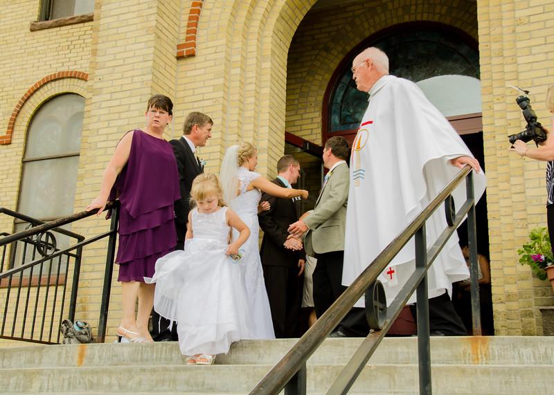 Holt wedding greeting line