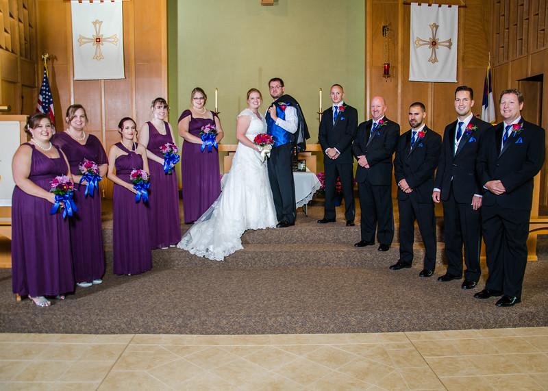 Jackson wedding party