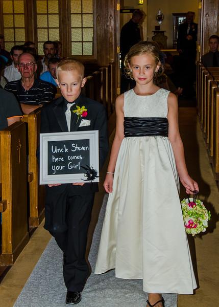 Risa wedding junior bridesmaid