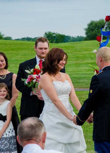 Stello wedding Brides smile