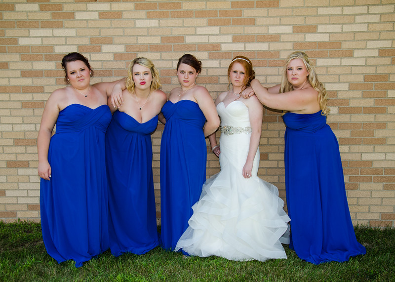 Danielson wedding bridesmaids