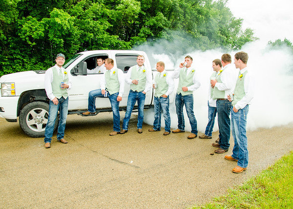 boys will be boys, burnout with the wedding party