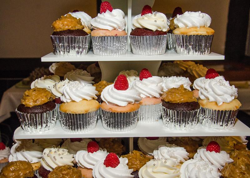 Danielson wedding cupcakes