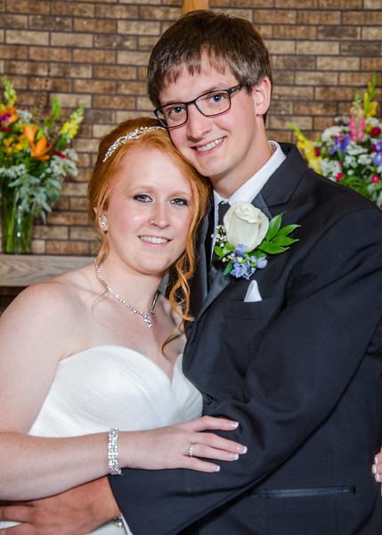 Danielson wedding bride and groom