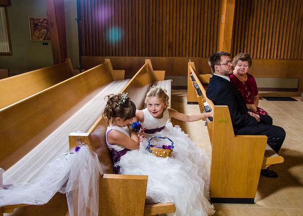Jakson wedding flower girls